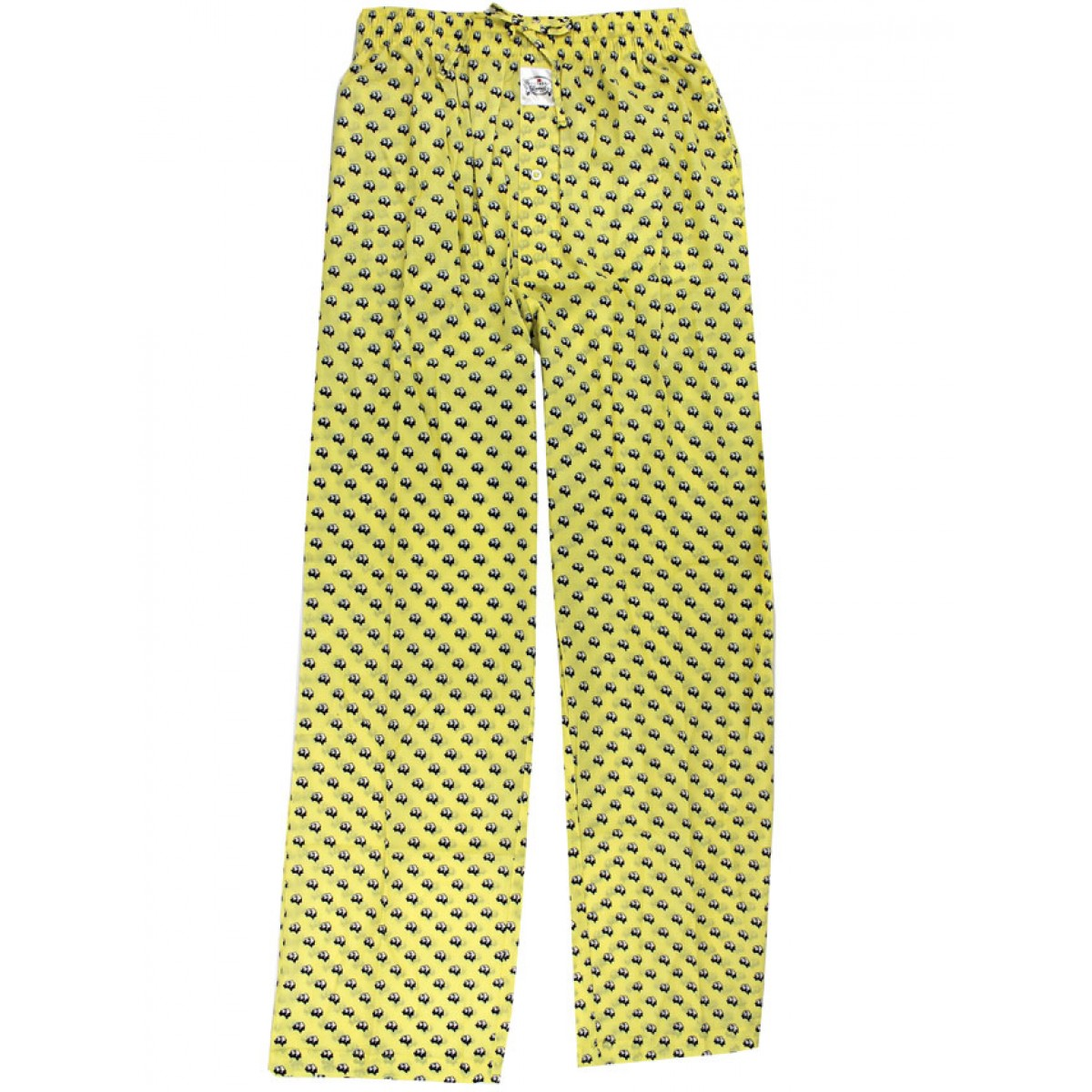 Lounge Pants - Yellow Cotton Boll